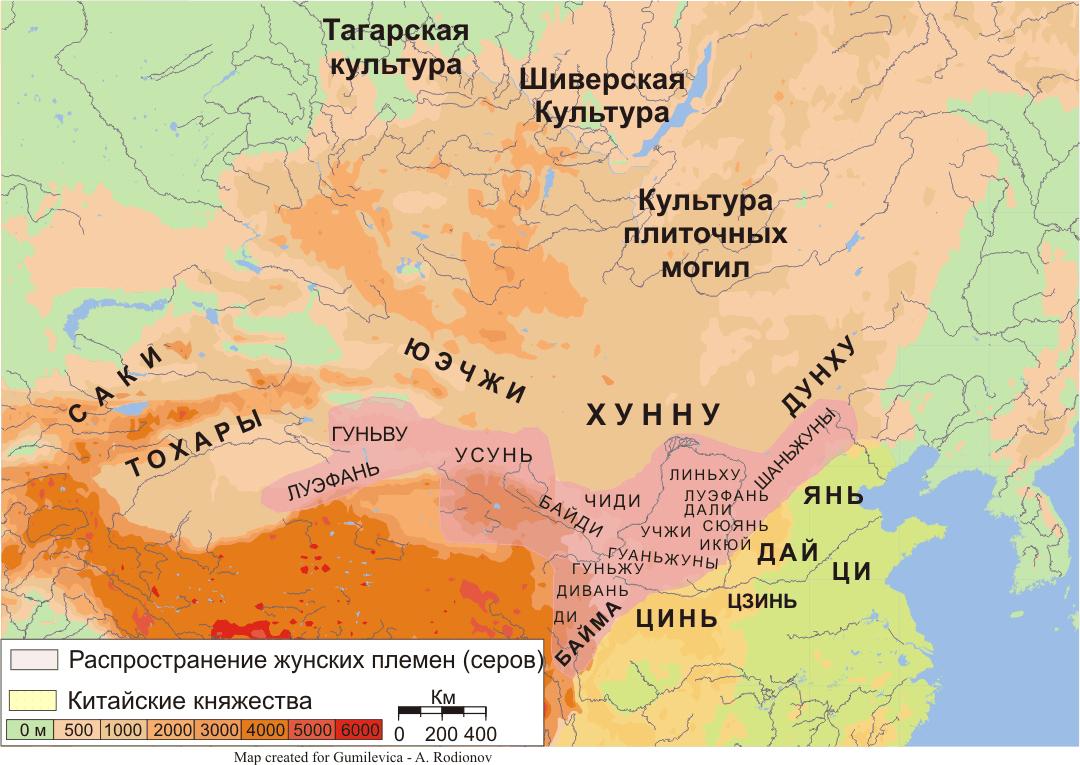 Rodstvo.ru > ГУННЫ N Сарматы Карта